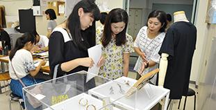 デザイン・造形学科<br /> ●実習室公開<br /> ●実習体験