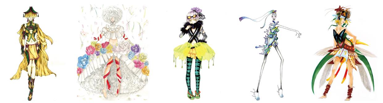 ファッション画 イメージ
